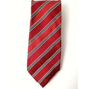 Donald J. Trump | Red Striped Tie